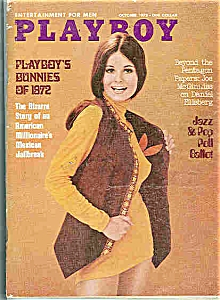 Playboy Magazine - October 1972 (Image1)