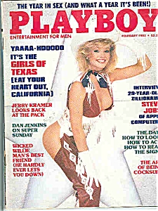 Playboy Magazine - February 1985 (Image1)