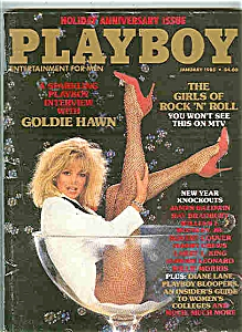 Playboy Magazine - January 1985 (Image1)