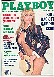Playboy Magazine - October 1989