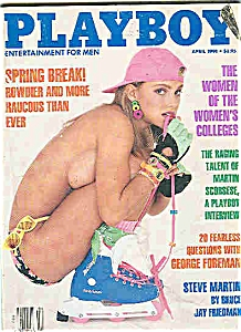 Playboy Magazine - April 1991 (Image1)