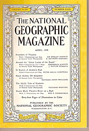 The National Geographic Magazine -  April 1948 (Image1)
