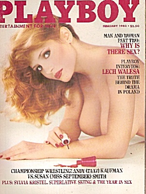 Playboy Magazine - Dec. 1982