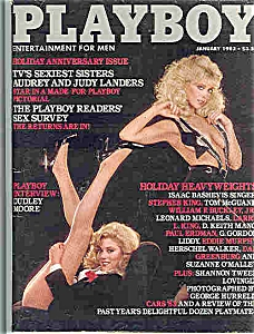 Playboy Magazine - January 1983 (Image1)