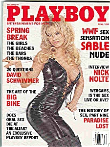 Playboy Magazine - April 1999