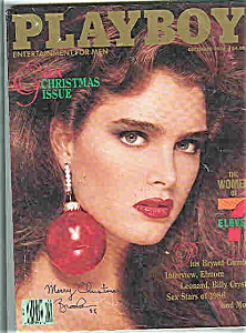 BROOKE SHIELDS ~ Playboy Magazine (Image1)