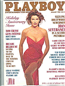 Playboy Magazine - January 1990 (Image1)