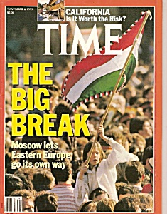 Time magazine -  November 6, 1989 (Image1)