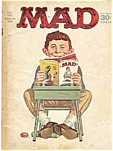 MAD - # 101   - March 1966 (Image1)