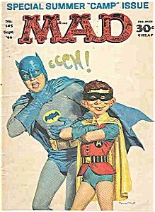 Mad magazine - # 105 - Sept. 1966 (Image1)