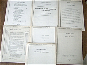 7 residential building handbooks - 1937 to 1939 (Image1)