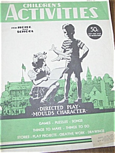 Children's Activities - March 1950 Toys - Pedal Car ADS (Image1)