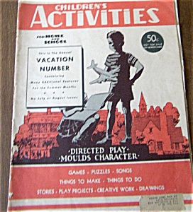 Children's Activities  June 1949 (Image1)