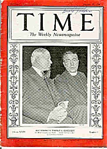 Time Magazine  - January 15, 1934 (Image1)