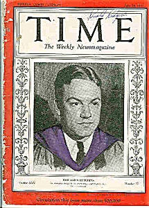 Time Magazine -  June 24, 1935 Chicago Hutchins (Image1)