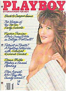 Playboy Magazine - October 1987 (Image1)