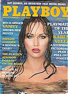 Playboy Magazine - May 1985 (Image1)