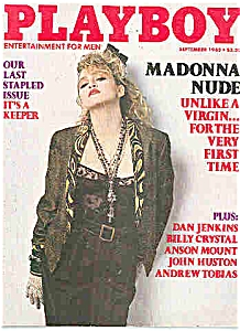 Playboy Magazine - September 1985 MADONNA (Image1)