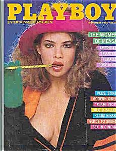 Playboy Magazine - November 1985 (Image1)