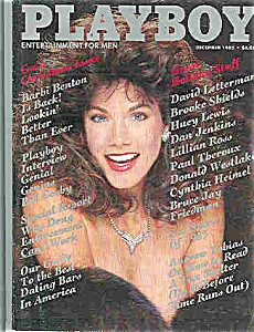 Playboy Magazine - December 1985 (Image1)