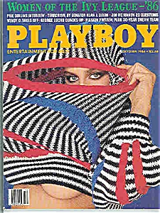 Playboy Magazine - October 1986 (Image1)