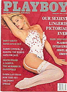 Playboy Magazine - February 1991 (Image1)