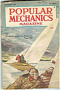 Popular Mechanics Magazine - October 1949 (Image1)