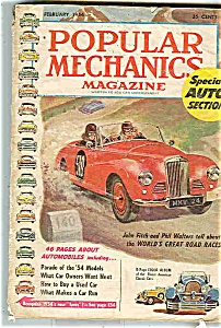 Popular Mechanics Magazine - February 1954 (Image1)