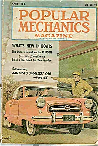 Popular Mechanics Magazine - April 1954 (Image1)