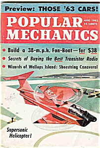 Popular Mechanics Magazine - August 1962 (Image1)