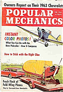 Popular Mechanics -  Feb. 1963 (Image1)