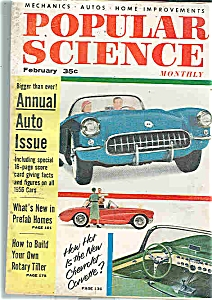 Popu.lar Science Mag. - February 1956