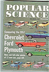 Popular Science Magazine - November 1956