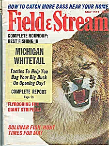 Field & Stream magazine- May 1972 (Image1)
