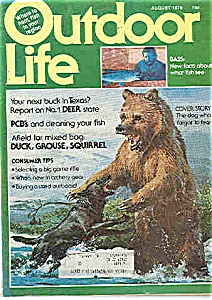 Outdoor Life Magazine  -August 1976+ (Image1)