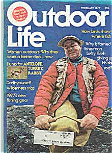 Outdoor Life Magazine - February 1977 (Image1)