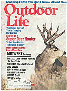Outdoor Life Magazine - January 1984