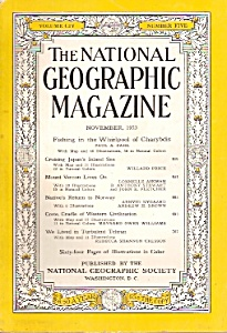 The National Geographic magazine- November 1953 (Image1)