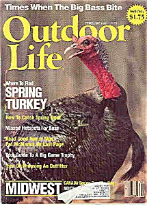 Outdoor Life Magazine - February 1986 (Image1)