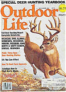 Outdoor Life Magazine = September 1986 (Image1)