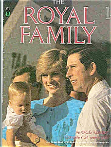 THE ROYAL FAMILY #1 -Orbis Publication   1984 (Image1)