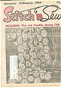 Stitch n Sew  Magazine - February 1969 (Image1)