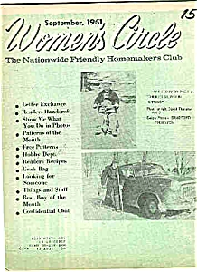 Women's Circle - September 1961 (Image1)