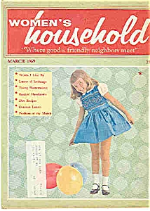 Women's household - March 1969 (Image1)