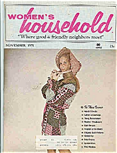 Women's Household - November 1971