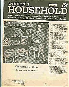 Women's Household Magazine - May 1962