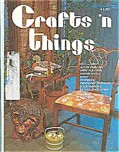 Crafts n things  magazine - Oct/Nov.  1975 (Image1)