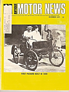 Antique Motor News Magazine - December 1977