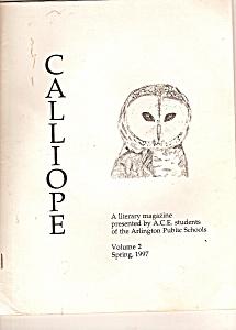 Calliope literary magazine - Spring 1997 (Image1)