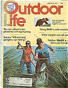 Outdoor Life Magazine - January 1977